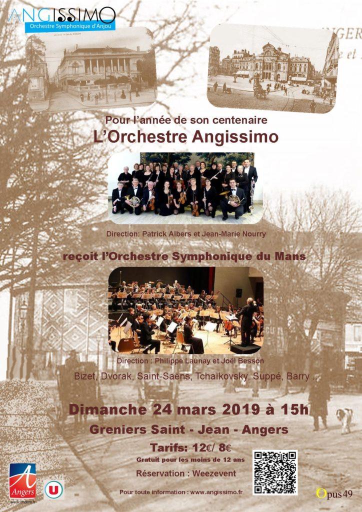 N°1 Affiche concert Greniers St Jean 24 mars 2019